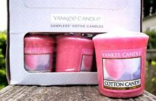 """Box Lot of 18 Yankee Candle """"COTTON CANDY"""" ~ Votive Samplers ~ NEW"""
