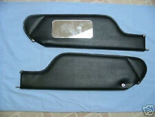 71-76  Impala conv new sun visors with vanity  mirror black