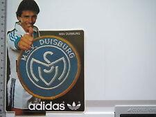 Pegatina Sticker MSV Duisburg-Meiderich-fútbol-adidas - Zebra 's (s1599)