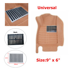 Functional Stainless Car Truck Floor Carpet Mat Patch Foot Heel Plate Pedal Pad
