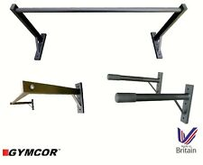 COMMERCIAL WALL MOUNTED TWIN PACK - DIP BARS & PULL UP BAR - FREE UK POSTAGE!