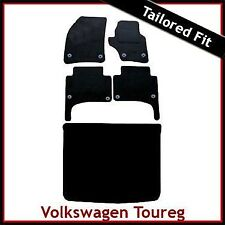 VOLKSWAGEN VW TOUAREG montato su misura moquette auto + Boot MAT (2003... 2009) Rotondo
