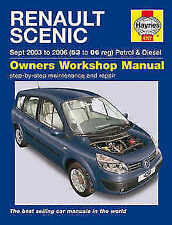 Renault Scenic Paper Car Manuals and Literature