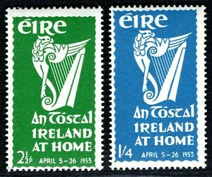 IRELAND EIRE Stamps{2} 1953 *Ireland at Home* Mint UMM MNH GRBLUE160