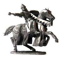 Soldado De Plomo Juguete, Caballero cruzada, en el caballo, Coleccionable, rara, Regalo, na