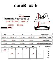 icyzone Workout Sports Bras for Women - Women's Running Yoga, Black, Size Small