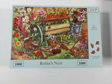 House of puzzles 1000 piece jigsaw puzzle ROBIN'S NEST