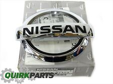 2013-2017 Nissan Versa Note Front Chrome Grille Emblem OEM NEW
