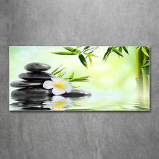 Acrylglas-Bild Wandbilder Druck 125x50 Deko Blumen /& Pflanzen Bambus