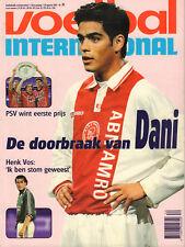 V.I. 1997 nr. 34 - DANI (AJAX) / FEYENOORD - FC JAZZ / HENK VOS / HANS V/D ZEE