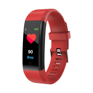 Fitness Tracker Sport Bracelet Heart Rate HR Monitor for Samsung iPhone Huawei