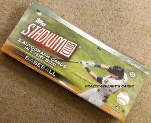 2021 Topps Stadium Club Baseball Hobby Box Free Priority Mail Shipping