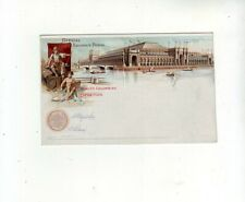 USA Color Litho PSt.Card World´s Columbian Exposition mint.
