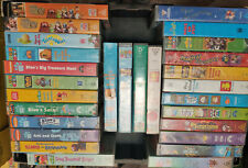 BULK LOT of x 28 CHILDRENS VHS TAPES Nickelodeon ABC KIDS & Muppets