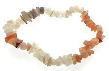 Multi Coloured Moonstone Gemstone chip bracelet