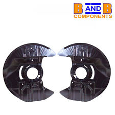 BMW E46 M3 FRONT DISC BRAKE BACK PLATE PAIR A1473