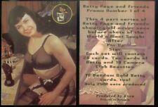 PROMO CARD: BETTY PAGE & FRIENDS (AKA BETTIE) (KEVA from Belgium) #1 OF 4