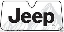 Universal Plasticolor 003718R01 Jeep Accordion Sunshade JK XJ New Free Shipping