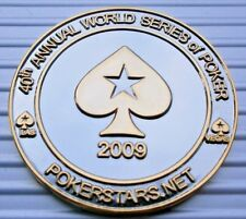 1 POKERSTARS WORLD SERIES OF POKER LAS VEGAS COIN CARD GUARD PROTECTOR WSOP