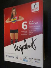 66323 Srna Markovic Rote Raben Volleyball original signierte Autogrammkarte
