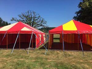 HIRE Small Marquee Garden Tent Festival Party Wedding Circus