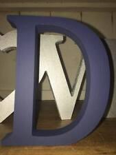 Confezione Multipla: 2 Navy Legno Lettere A-Z, 13cm grandi lettere, numeri, segni &, @