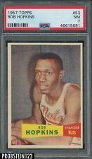 1957 Topps Basketball #53 Bob Hopkins Nats PSA 7 NM