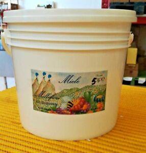 Miele Millefiori in secchio da 5kg