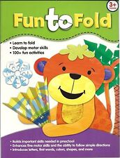 Fun to Fold KIDS Art DRAWING Crafts BRAND NEW Book PRESCHOOL Activities LEARNING