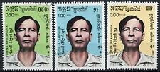 Camboya 1987 Sg # 785-7 Festival Nacional Cto Usado Set #d 6337