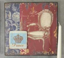 Holzschild Holz Schild Altes Vintage Wandschild 4set Bar Platte Der Prinz