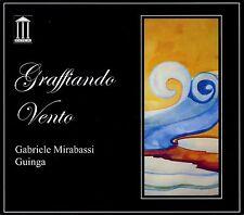 GABRIELE MIRABASSI - GRAFFIANDO VENTO - CD NUOVO SIGILLATO / GUINGA