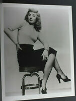"Barbara Steinwyck Portrait Sitting Stool - 8x10"" Photo Print - Vintage L1209G"