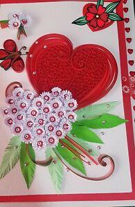 Quilling Card Handmade Paper Quilled Birthday Wish Sri Lanka DIY