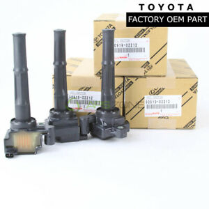 GENUIN TOYOTA 4RUNNER  TACOMA TUNDRA IGNITION COIL QYT 3 OEM 90919-02212