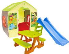 Nouvelle annonce Royaume-Uni New [3in1] Toboggan Enfant Jardin Maison et table de jardin 100% MAD...