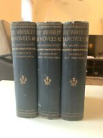 The Waverly Novels By Sir Walter Scott 3 Books (1892, Hardcover)