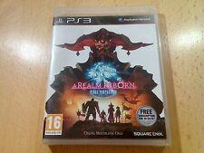 PlayStation 3 ps3 final fantasy a realm reborn xiv 14 x1v new factory sealed