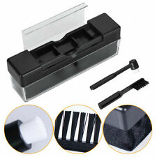 Portable Vinyl Record Cleaning Brush Set Stylus Velvet Anti-static Cleaner Kit