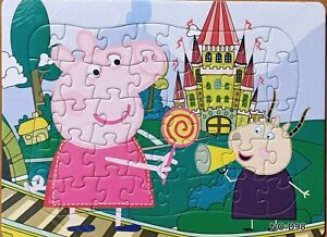 Hot New 40 Pieces Peppa Pig Jigsaw Puzzle Best Gifts for Kids - 3#