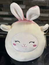 Squishmallows 8� Sophie the White Easter Lamb With bunny Ears 2021