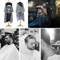 Professioneller Salon Friseur Kleid Friseur Cape Haarschneiden Umhang Stoff Unis