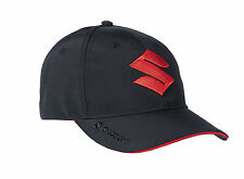 GENUINE SUZUKI BLACK & RED BASEBALL CAP