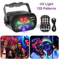 120 Pattern RGB Portable LED Stage Laser Light DJ KTV Projector Disco Lamp Gifts