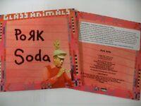 GLASS ANIMALS - PORK SODA ( CD 2016) 1 TRACK 3 MIXES  CARD PICTURE DJ PROMO