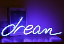 """Dream� Neon Light Sign Lamp Beer Pub Led signs Retro Color College"