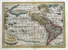 AMERICA, Americae Descriptio, Cluver, Goos, Jansson original antique map 1661