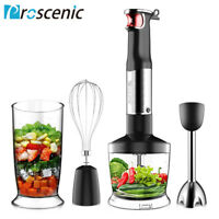 Proscenic 800W Immersion Hand Blender 9-Speed Multi-Purpose Stick Mixer 4IN1 Set