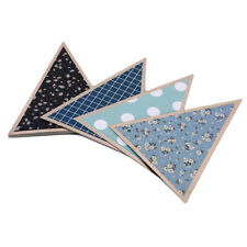 Paper Pendant Party Banner Triangle Flags Bunting Garland For Wedding Nurs S
