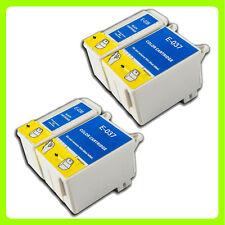 4 ink Cartridges Replace for Epson Stylus C44 C44+ C44UX C46 C42 Printer